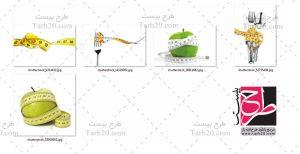تصاویر با کیفیت رژیم غذایی