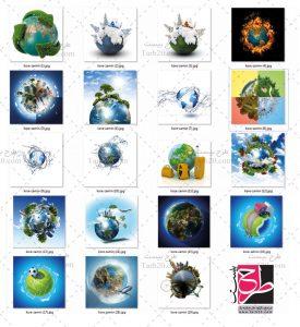 تصاویر کره زمین