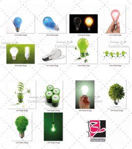تصاویر باکیفیت لامپ