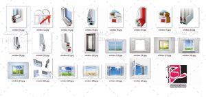 تصاویر باکیفیت پنجره