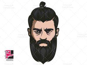وکتور آرایشگاه مردانه