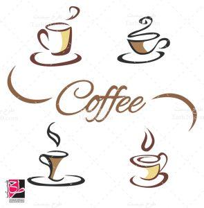 وکتور لیوان قهوه